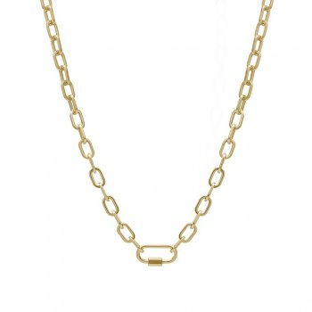 Nova Short Necklace Gold