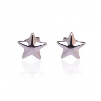 Star Earring Steel