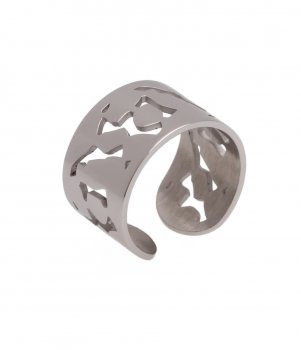 Lace Ring Steel