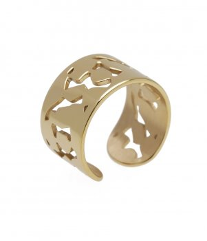 Lace Ring Gold