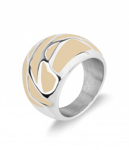 Rose Ring Sand/Steel