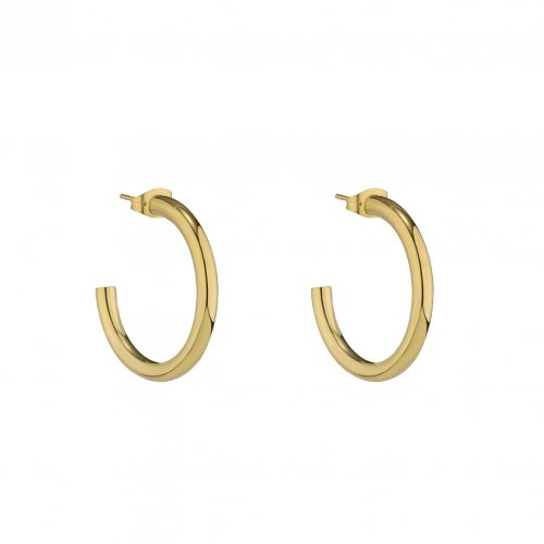 Chloe Small Hoop Earring Gold
