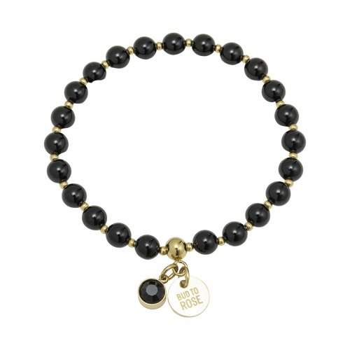 Beverly Bracelet Black/Gold