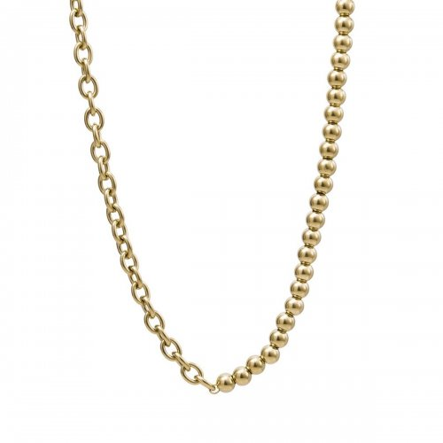 Senso Short Necklace Gold