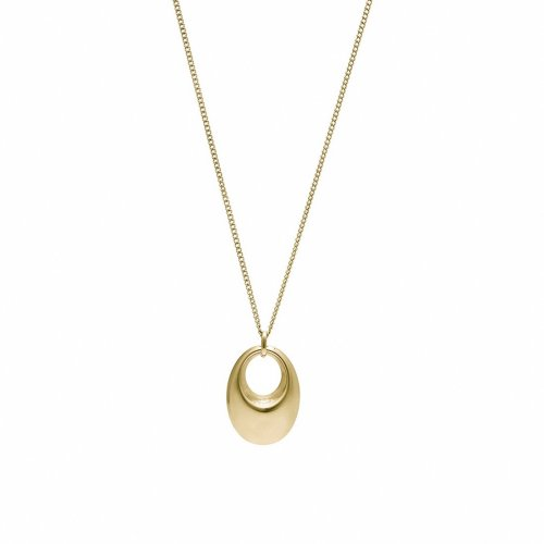 Arc Bold Necklace Gold