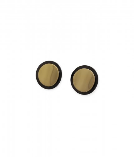 Claire Earring Black/Gold
