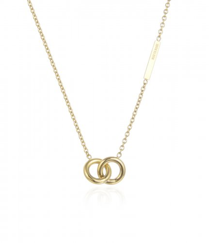 Hitch Short Necklace Gold