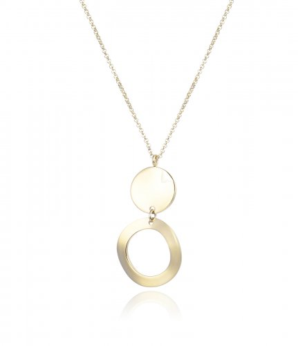 Moon Short Necklace Gold